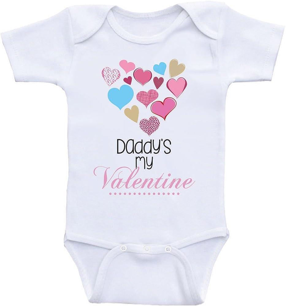 Daddy/'s Valentine unisex baby onesie
