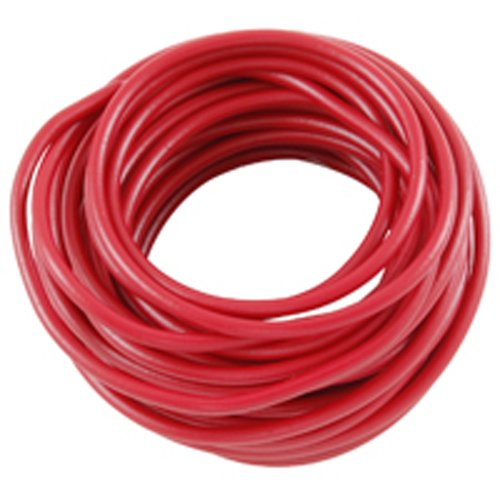 NTE Electronics WA08-02-10 Hook Up Wire, Automotive, Type 8 Gauge, Stranded, 10' Length, Red