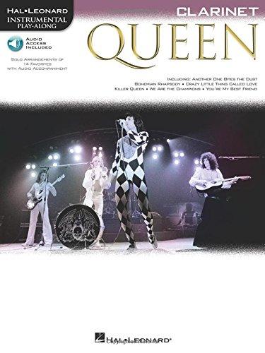 Queen (Clarinet) Clarinette +CD (Hal Leonard Instrumental Play-along): Queen (Book/Online Audio)
