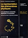 LA REPRESENTATION DES PHENOMENES PHYSIQUES. Les opérateurs vectoriels appliqués à la physique, rappels de cours, exercices corrigés