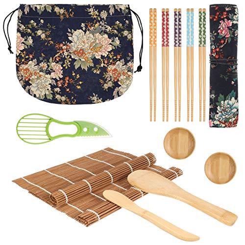 Set de sushi 13 piezas Easy Sushi Maker, juego de sushi de...