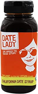 Date Lady, Syrup Date Plastic Jar Organic, 12 Ounce