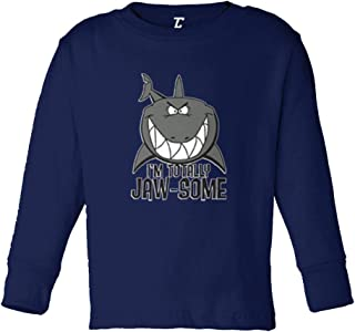 I'm Totally Jaw-Some - Shark Cool Infant/Toddler Cotton Jersey T-Shirt