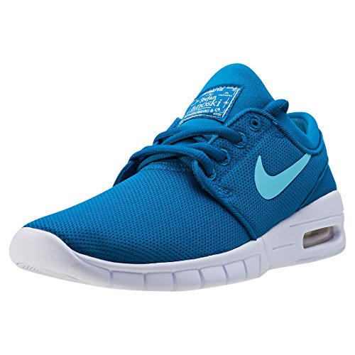 Nike Air SB Stefan Janoski Max (GS) Sneaker verschiedene Farben, Schuhgröße:EUR 38.5, Farbe:blau