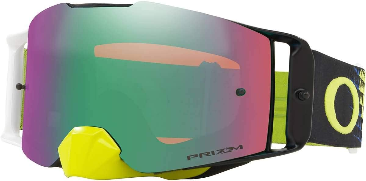 Oakley Front Line MX Goggles with Prizm Green Dissolve Lens Max San Jose Mall 90% OFF Blu