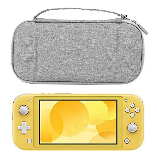 Bolsa de Almacenamiento Estuche Protector portátil para Switch Game Host(Grey, Polar Animals)