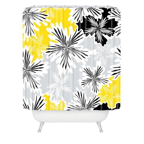 Deny Designs Karen Harris Duschvorhang, Hummelmotiv, 175,3 x 182,9 cm