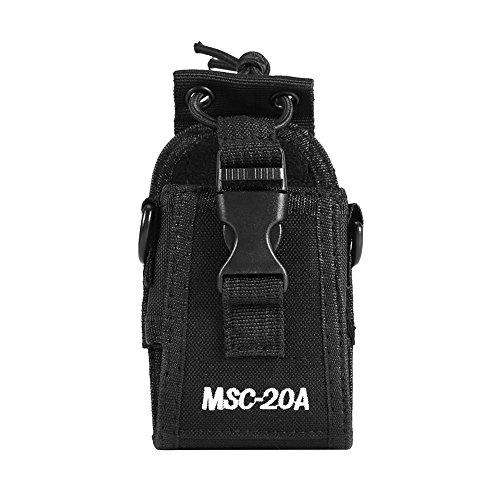 MSC-20A Multifunktions-Etui für Zwei-Wege-Funkgerät Walkie-Nylonholster für Kenwood / Motorola / HYT-Funkgerät
