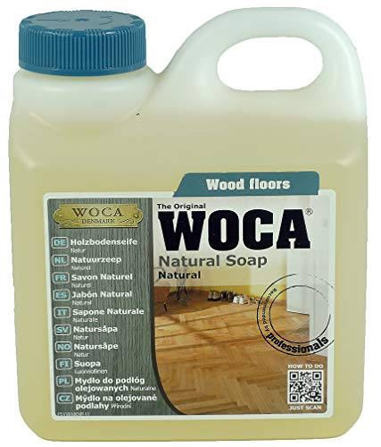 WOCA Natural Soap 1 Liter (Natural) by Woca Denmark