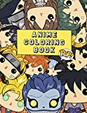 POP! Anime Coloring Book: Funko POP Coloring Book | 50 High Quality Illustrations With Lots Of Anime Characters You Love