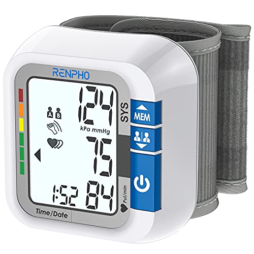 Blood Pressure Machines for Home Use, RENPHO Blood Pressure Monitor with...