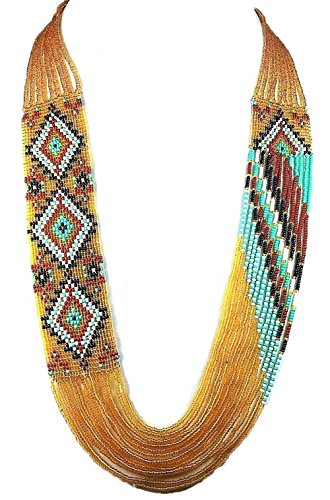 Layered Beaded Necklaces Handmade I…