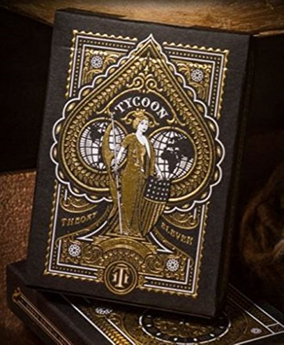 Tycoon Playing Cards - Black Edition by Theory 11