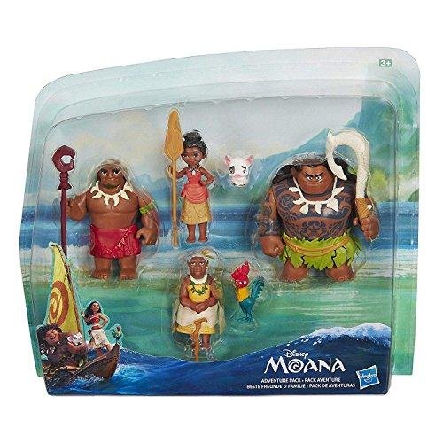 Hasbro Disney Vaiana C0149EU5 - Mini muñecas, 6 personajes