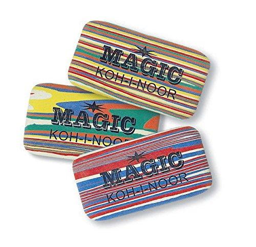 Koh-I-Noor MAGIC Erasers for graphite pencils, 3pcs
