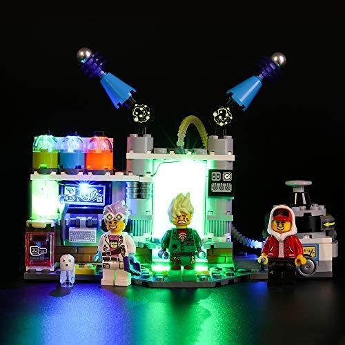 BRIKSMAX Kit de Iluminación Led para Lego Hidden Side Labor