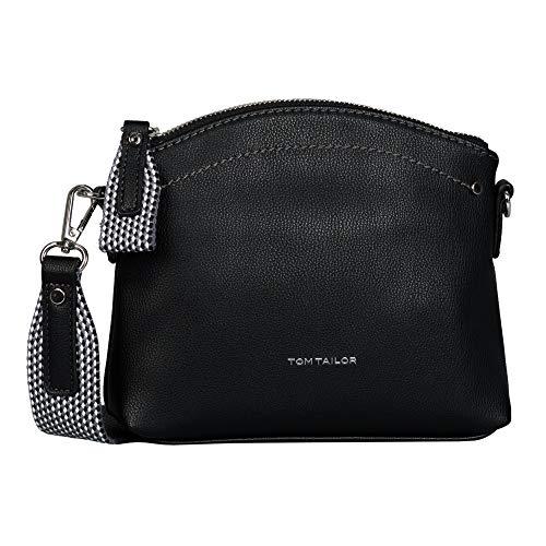 TOM TAILOR Damen Delia Cross bag, black, S