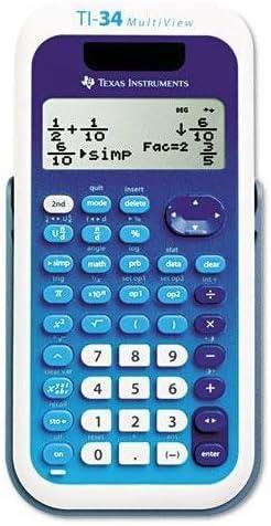 Great interest Max 81% OFF TEXTI34MULTIV - TI-34 Calculator MultiView Scientific