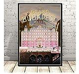 ZJYWYCN Plakat Das Grand Budapest Hotel Film Klassisches