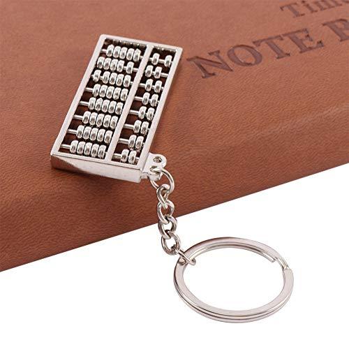 YCEOT sleutelhanger 8 rijen oude stijl sleutelhanger creatief ontwerp calculator boekhouding speciaal doel gereedschap klassieke gift