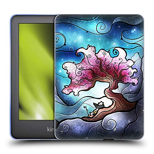 Official Mandie Manzano Panda Nature Soft Gel Case Compatible for Basic Kindle 10th Gen (2019)