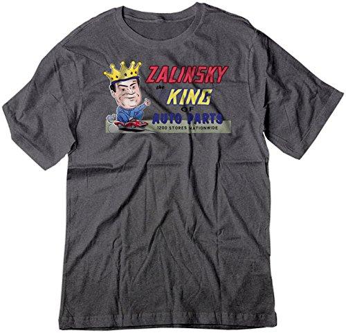 BSW Men's Parody Zalinsky Auto Parts Tommy Boy Movie Shirt Dark Heather LRG