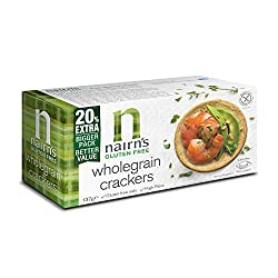Gluten free wholegrain cracker Alternative to bread for the lunchbox High in fibre Top with cream cheese for a tasty snack