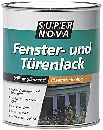 SUPER NOVA 20005562400000 Fenster-und Trenlack, weiá, 750 ml