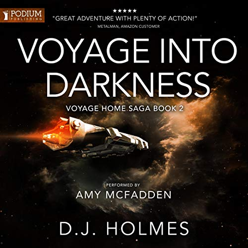 Voyage into Darkness audiobook cover art
