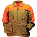 Gamehide Rooster Upland Hunting Jacket, Marsh Brown/Orange, M