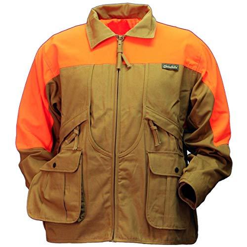 Gamehide Rooster Upland Hunting Jacket, Marsh Brown/Orange, M