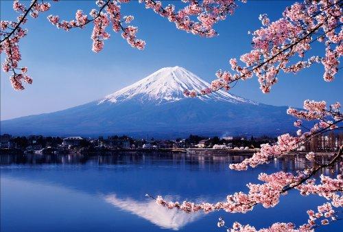 【Amazon.co.jp 限定】河口湖に映る富士と桜 ポストカード3枚セット P3-054