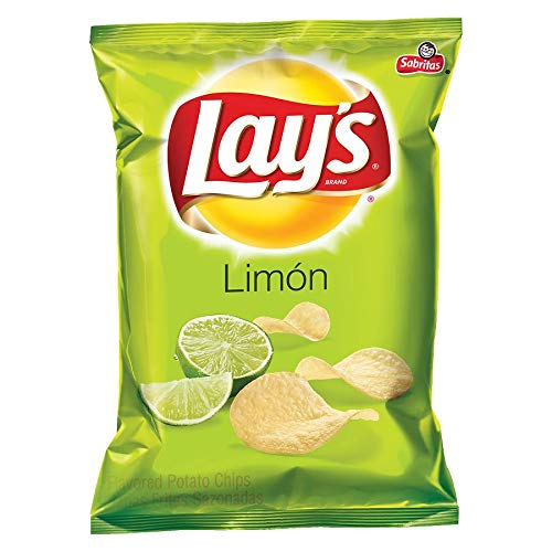 Lay's Limon Potato Chips, 1.5 ounce (64 per pack)