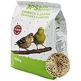 BPS Pienso Canarios Alimento Completo Comida con Formula Alta Energía Material Natural Receta Equilibrada con Base Científica 900g BPS-4025