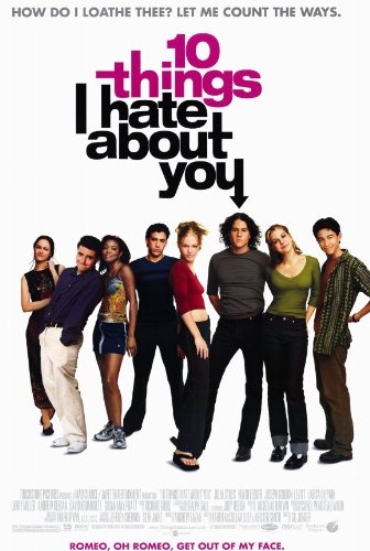 Ten Things I Hate About You - Movie Poster - 11 x 17