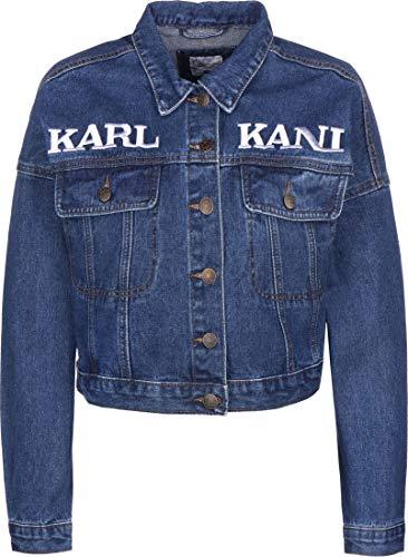 Karl Kani Damen Jeansjacken Retro blau M