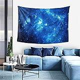 N\A Tapiz de Ropa de Cama Hippie Hippy Tapiz de la Reina de la Galaxia Azul Tapiz de Tapiz para Sala de Estar Accesorios de Dormitorio Mandala Meditación Tapiz de Dormitorio de Picnic
