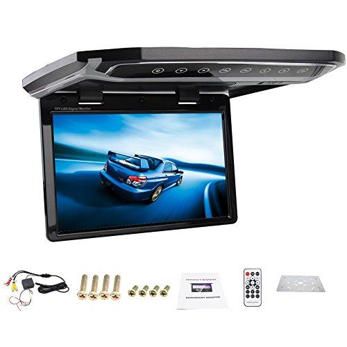 Nuovo 12.1 pollici HD USB SD HDMI FM 1080P supporto del tetto dell'automobile Monitor/Abbassare/Over testa/Car soffitto Wide/Drop Down Monitor LCD display