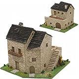 CUIT 3.512 - Báscula de 2 ho, diseño de casa Rural, Multicolor