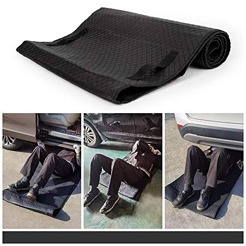 EAROND Automotive and Household Car Creeper Rolling Pad for Working on The Ground,Folding Moving Pad for Auto Repair and Maintenance