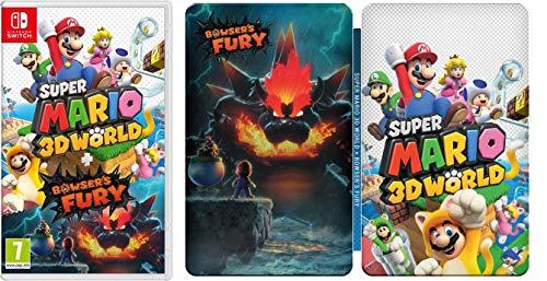 Super Mario 3D World + Bowser's Fury (Nintendo Switch) + Steelbook