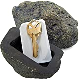 RamPro Hide-a-Spare-Key Fake Rock - Looks & Feels like Real Stone - Safe for Outdoor Garden or Yard, Geocaching (1)