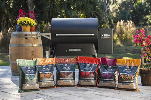 Traeger Pellet Grills 33365 20Lb Apple Wood Pellets, 20 lb