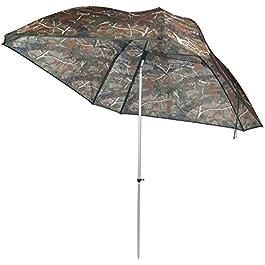 VTK Fishing – Parapluie de Pêche Camo 250 – Oxford – Aluminium – Superior
