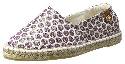 Tamaris Damen 24610 Slipper, Violett (WHT/LAVEN.DOTS 152), 40 EU