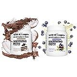 NUTRI DIET complete Line@diet   PASTO SOSTITUTIVO completo di vitamine e minerali   500 g (Vaniglia e mirtilli +Torta cocco e cioccolato)
