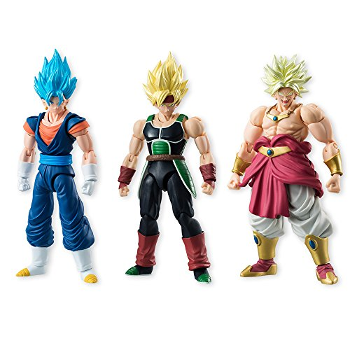 Dragon Ball Z Shodo Super Saiyan Barduck Action figure standard