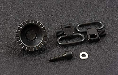 NO LOGO XBF-Giratorio, Todo el Acero Qd Gun Sling Swivels Fit Remington 12 Gauge 1100 Series 1100 Lightweight Field 1802-2 M4718