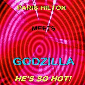 Paris Hilton Meets Godzilla