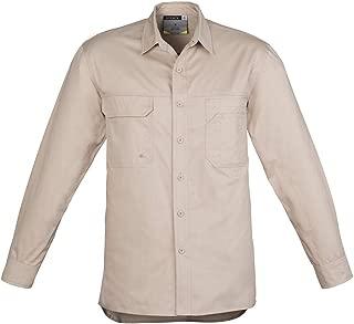 Syzmik Workwear Mens Lightweight Tradie L/S Work Shirt ZW121